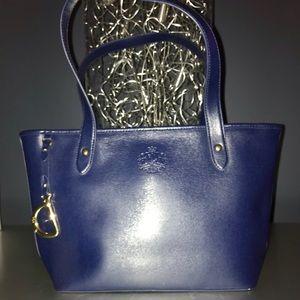 Ralph Lauren blue tote - medium